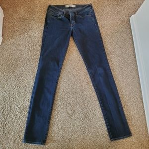 Women's Dark Wash Abercrombie & Fitch Jeans
